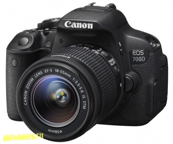 Canon EOS 700D 18-55mm STM